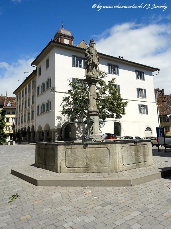 Brunnen im Kt St Gallen
